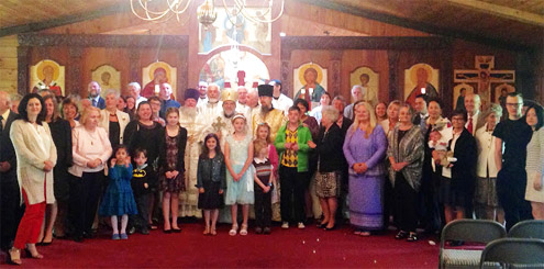 The parish of Saint Andrew celebrating their fiftieth anniversary