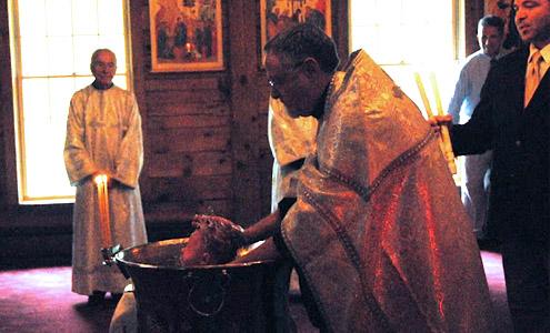 Post image for Baptism of Alexander H.