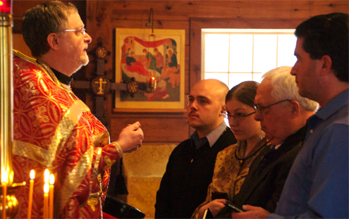 Post image for Four Catechumen Begin the Journey to Pascha